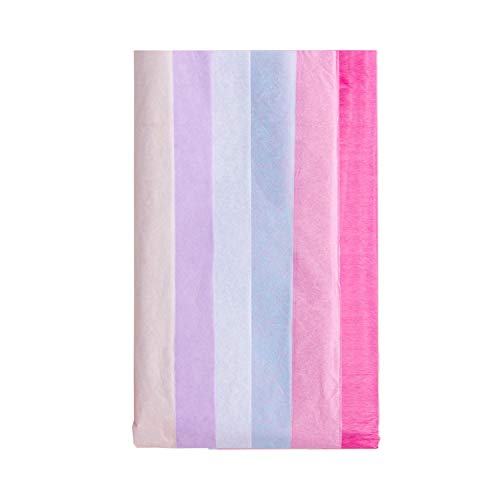 - RUSPEPA Gift Wrapping Tissue Paper - Colored Tissue Paper for DIY Crafts,Pack Bags - 19.5 x 26 inches -12 Sheets