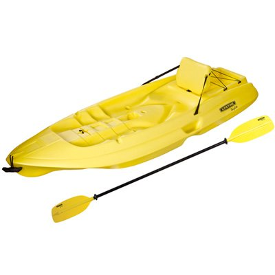 90105 Lifetime Products Daylite Kayak with Hard Backrest and Paddle