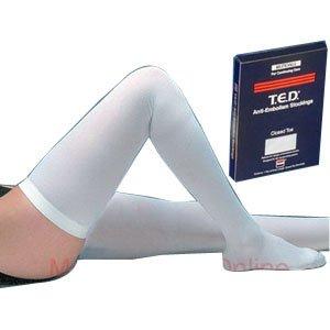 T.E.D. Thigh Length Continuing Care Anti-Embolism Stockings Large, Regular