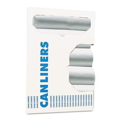 Boardwalk Waste Can Liners, 12-16 gal, 24 x 31, 6 mic, Natural, 1000 per Carton