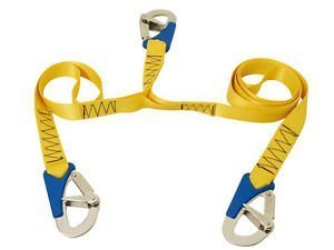 Secure Fix Direct Triple 3 Hook Boat Safety Line - Deck Boat Fasten Harness Cord Lifejacket Yacht by Secure Fix Direct