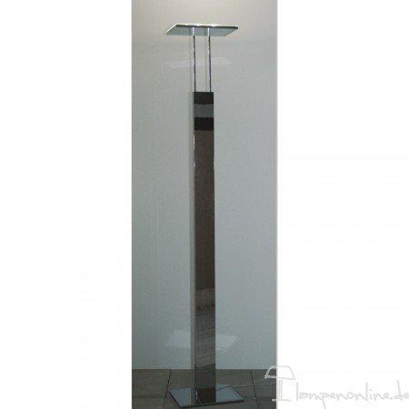 Bopp Leuchten - lámpara de pie de ledes Go - cromo, con ...