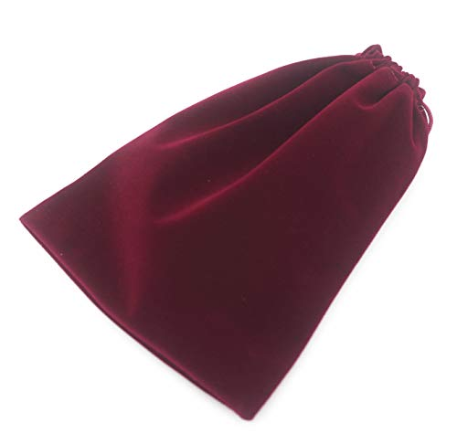 (Pack of 25 Velvet Gift Bags Drawstring Jewelry Pouches Candy Bags Wedding Favors (6