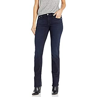 Lucky Brand Women's Mid Rise Sweet Straight Jean, Jefferson, 26W X 32L