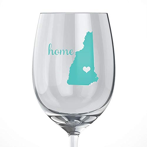 - New Hampshire Home Wine Glass