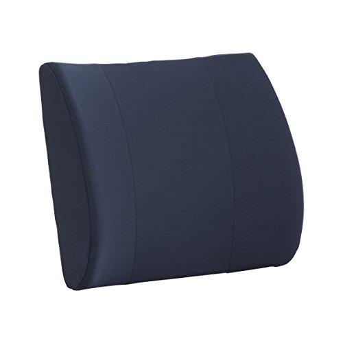 Pivit Lumbar Back Support Cushion Plus Anchor Strap | Blue, 14