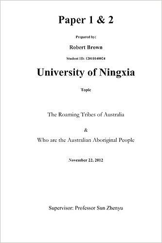 Australian Phd Thesis