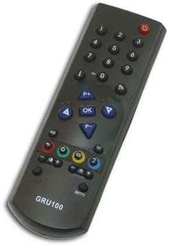 MANDO TV CRT PARA GRUNDIG GR-715 GRU100 - SOLO CRT: Amazon.es: Electrónica