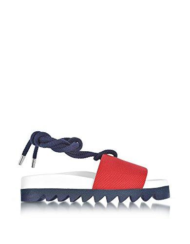 Joshua Sanders Women's 10292SAWREDSAILOR Multicolor Canvas Sandals dnr2cag6E