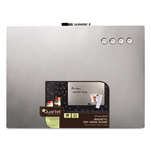 (Quartet Magnetic Dry Erase Board with Stainless Steel Finish, 17 x 23 (QRT79245))