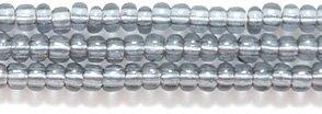 Preciosa Ornela Czech Seed Bead, Transparent Grey, Size (Grey Czech Seed)