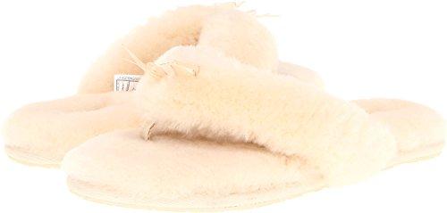 UGG Australia Fluff Flip Flop Ii, Natural, 7 B(M) (Ugg Flip Flop Slippers)