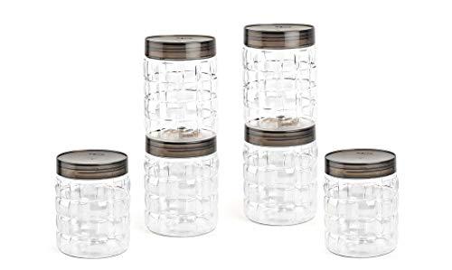Cello Checkers Plastic Container Set, 6PC, 1.2L Price & Reviews