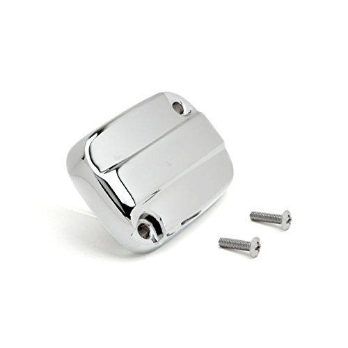 Krator Front Brake Fluid Cap Chrome Billet Reservoir Cap For 2013-2014 Harley Davidson Electra Glide Chrome Billet Clutch Cover