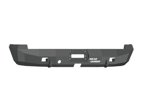 tin Black Rear Stealth Bumper for Dodge RAM HD/1500 (Road Armor)