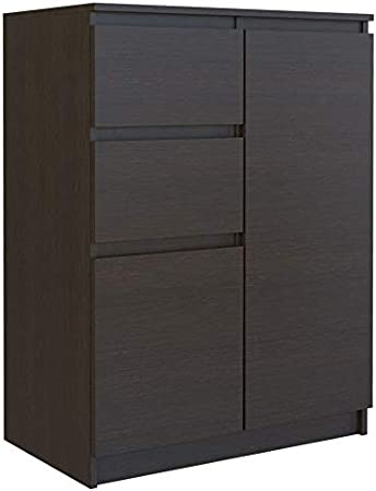 Shumee 2D2S Commode /à 2 tiroirs 70 x 40 x 97 cm