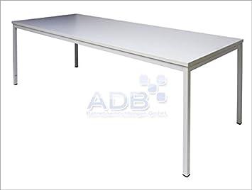 ADB escritorio L80 120 160 200 x 80 x 76 cm Luz Gris: Amazon.es ...