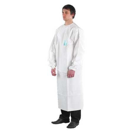 Disposable Lab Coat, 5XL, White, PK30