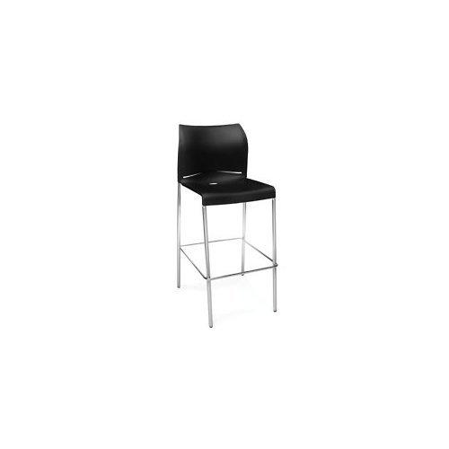 Essentials E2000-P0 Café Height Stool,Black by OFM
