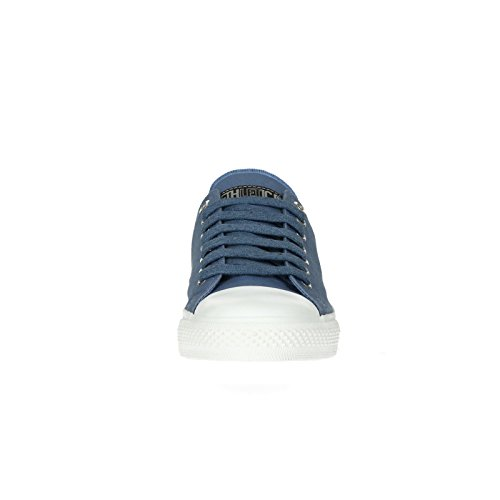 Ethletic Sneaker vegan LoCut Collection 17 - Farbe pale denim / just white aus Bio-Baumwolle