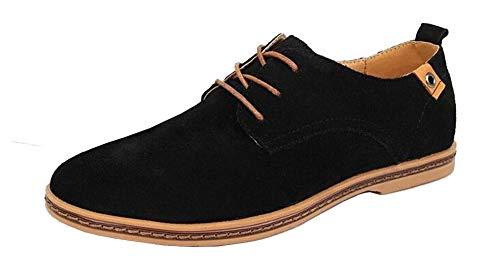 business Herren 5 casual Schuhe Schuhe schwarz 41 Wildleder 6dZdvqxr