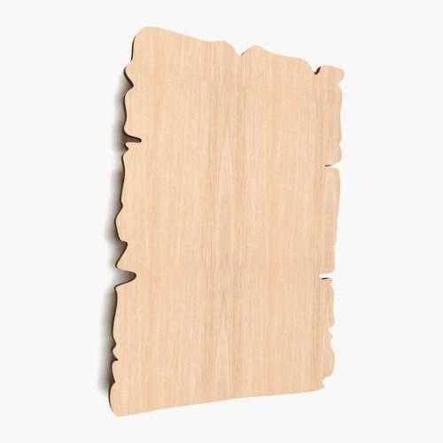 5x Naturholz Papyrus-Platten für Basteln Malen Dekoration Holz Speiswkarte Bilderrahmen Menükarten (W75)