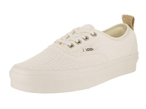 Vans Authentic PT Sneakers (Basket Weave) Marshmellow Womens 8