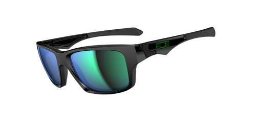 Oakley Men's  Jupiter Non-Polarized Square  Sunglasses,Polished Black Frame/Jade Lens,One ()