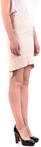 Luxury Fashion | Pinko Dames MCBI34297 Beige Polyester Rokken | Seizoen Outlet