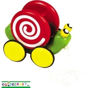 Guidecraft Pull-Along Animal Friends - Snail