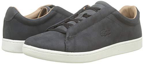 Lacoste Herren Carnaby Evo Easy 319 1 SMA Sneaker, Schwarz (Black/Offwhite 454), 43 EU 7