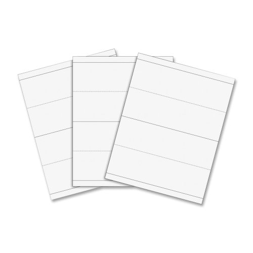 Wholesale CASE of 10 - C-Line Inkjet/Laser Cardstock Name Tents -Name Tents w/Holders, Inkjet/Laser, 8-1/2''x11'', 50/BX, White by CLI