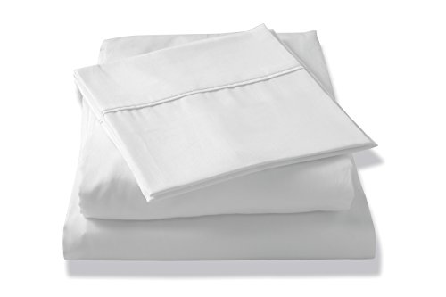 Brielle Tencel Sateen Sheet Set, King, White