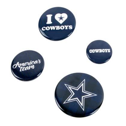 (Rico Industries NFL Dallas Cowboys Team Button Set)