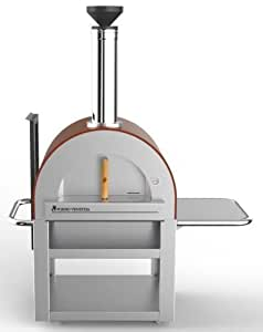 Forno Venetzia Fully Assembled Pizza Oven - Red