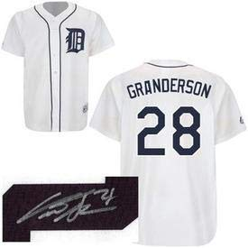 Curtis Granderson Signed Jersey - Autographed MLB Jerseys