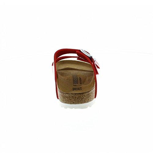 Birkenstock Arizona Narrow Fit - Patent Tango Red 1005283 (Man-Made) Womens Sandals 43 EU by Birkenstock (Image #4)
