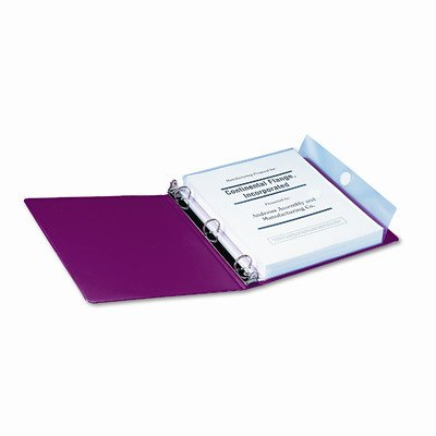 Poly Ring Binder Pockets, 3/Pack [Set of 2] Smead Manufacturing Company