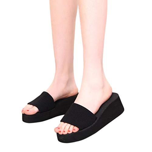 ABsolute Zapatos Zapatillas de Mujer, Verano para Mujer Sandalias Zapatillas de Interior y Exterior Sandalias y Chanclas Zapatillas de Playa Casual: ...