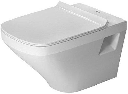 Duravit 2538090092 Toilet Wall Mounted 540mm DuraStyle White, washdown, Rimless, US (Washdown Faucet)