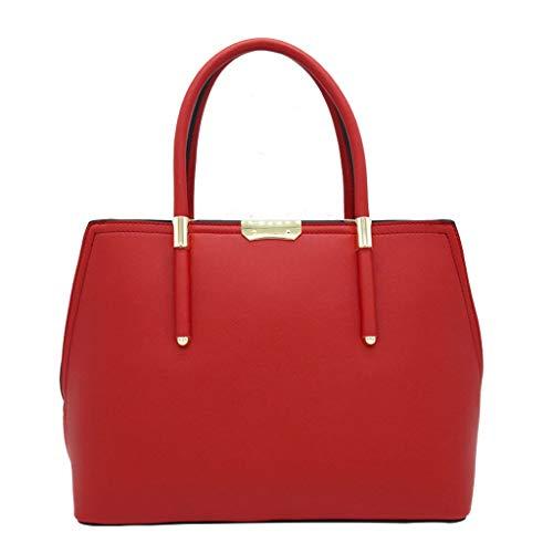 Lxf20 Femme Sac PU Sac À Main Européenne Et Américaine Jacquard Pain Doux Dames Sac Messenger Bag Gros Rouge