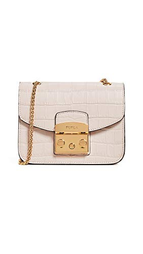 Furla Women's Metropolis Mini Crossbody Bag, Dalia, Pink, One Size