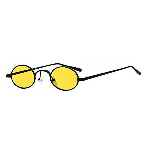 Style Sol Sol Gafas Gafas Sra Protección de UV Frame Color de Vintage 3 Harajuku de La 2 DT 7xz6wUqI6