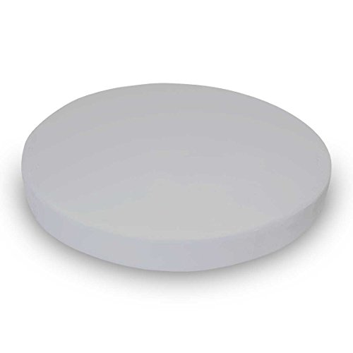 SheetWorld 100% Cotton Flannel Round Crib Sheet, Flannel - Silver Grey, 42 x 42, Made In USA
