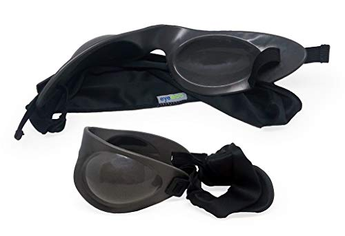 Eyeseals 4.0 Hydrating Sleep Mask Bundle with Soothing Eye Mist for Dry Eyes at Night (Charcoal) by EYEECO (Image #2)