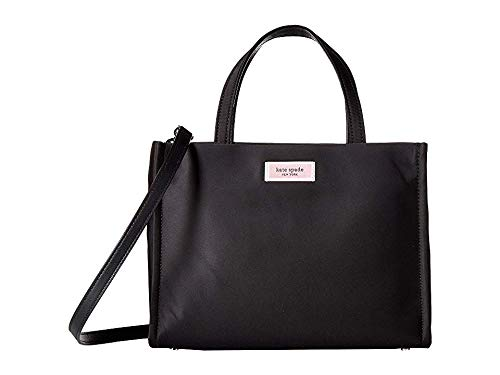 Kate Spade New York Women's Sam Nylon Medium Satchel Black One Size