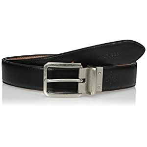 Tommy Hilfiger Men's Tommy Hilfiger Men's 1 3/8 in. Feather Edge Reversible With Stitch Belt