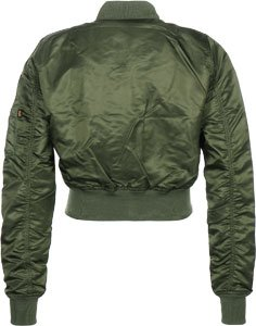 1 Alpha Verde Cropped Bomber 176006 Ma Industries Donna ff8qX