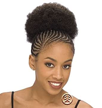 "Shake N Go Freetress Ponytail Drawstrings: Shake N Go Freetress Afro 5"" Drawstring Ponytail Color: 30"