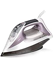 Reliable Velocity 230IR Steam Iron - 120V Compact Sensor Vapor Generator Steam Iron 1800W with Auto/Turbo Setting, Anodized Aluminum Soleplate, Heavy-Duty Continuous Steam, Zero Leaks